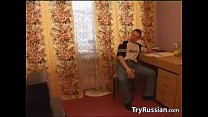 Russian Teacher Gives A Private Lesson