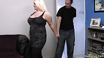 Blonde bbw gives head and doggy-fucked [뚱뚱한 여자 (fat girl)]