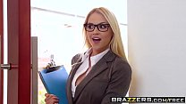 Big Tits at Work -  Her First Big Sale scene starring Sarah Vandella Keiran Lee and Toni Ribas video