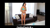 Casting Couch-X Gymnast wants to balance on big beams