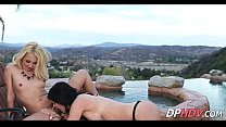 Lesbian Lovers By The Pool 3 2