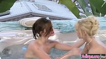 When Girls Play - (Jana Jordan, Lily Carter) - Hotter In The Hot Tub - Twistys