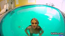 Peculiar chick pleasures vagina and gets licked and screwed in pov