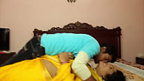 Hot indian masala aunty romance with step son Image