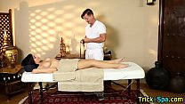 Babe deceived by masseur