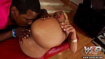 WCPClub blonde black girl with a gorgeous ass fucked by BBC thumbnail