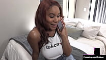 Young Taboo Cutie Jenna Foxx Bangs Her Step Dad While Mommy Is Out!