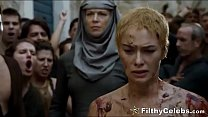 Lena Headey Nude Walk Of Shame In Game Of Thrones