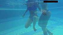 Lina Mercury hot Russian submerged underwater preview image
