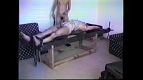 Slave stretched and t. on the rack