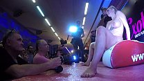 Squirt In Public To Show The Ejaculation And Ho