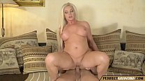 amazing granny seduces a young guy image