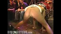 Bent Over Wet Thong Crotch Split Leg And Spread Eagle
