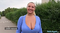Public Agent Oversized boobs being fucked outside preview image