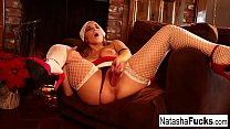 Natasha Nice spreads her legs for you Thumbnail