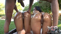 WCP CLUB Anal Booty threesome in  the pool's Thumb
