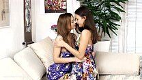 Fingering Climaxers - by Sapphic Erotica lesbian sex with Lidia Dulce preview image