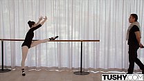 TUSHY Young Ballerina Explores Anal Sex with her Teacher - 9Club.Top