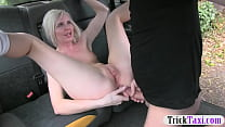 Hot amateur blonde babe gets anal railed by fak... thumb