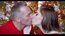 Christmas Morning Sex With My Stepdad |FamSuck.com preview image
