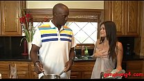 Free download video bokep Nasty woman twat and asshole ripped by big black boners