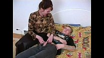 Horny mother with a impressive ass seduced by son in bedroom