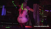 servant porn - Hotwife gets fucked by 4 guys in a swingers club thumbnail