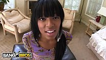 BANGBROS - Delicious Brown Bunny Tila Flame Taking Dick From Johnny Castle image