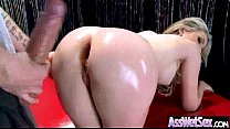 Slut Girl (courtney cummz) With Big Ass Get Oiled And Anal Banged mov-13