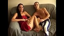 Danish Couple Fucking in their Living Room