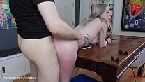 Beautiful bubble-butt blond gets brutally paina...'s Thumb