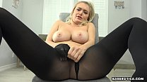 Solo Blonde Girl Natalia Starr Is Masturbating In 4k