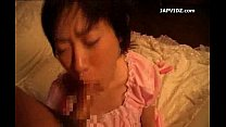Asian Teen Cuffed for Blowjob Action