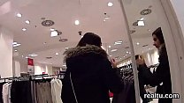 Stunning czech teen is seduced in the mall and drilled in pov Thumbnail