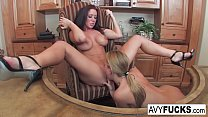 Sexy Avy and Jayden Jaymes Office Fuck