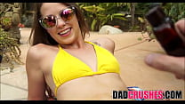 Tanning With Daddy Fingering Orgasm thumbnail