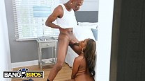 Bangbros - Ebony Stepmom Osa Lovely Joins Her Step Daughter Chanell Heart
