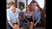 Swinger Wife Gets A Nice Threesome thumbnail