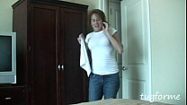 Older housekeeping MILF busts you jacking off p...