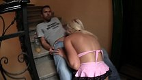 total stranger girl fucked in the stairwell and run off