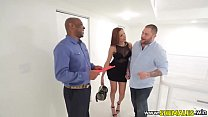 Shemale Girlfriend Fucks With Real Estate Agent