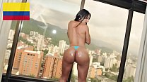 """CULIONEROS - Colombian Goddess """"Isabel"""" Gets Her Big Ass Fucked Hard"""