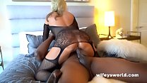 Big Tits MILF Bangs BBC And Swallows His Load