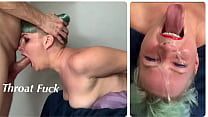 Extreme Throat Fuck for StepDaughter with Throa...