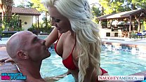 Superb Cameron Dee fuck in the pool's Thumb