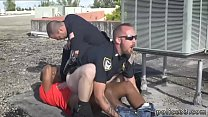 Pic of gay cops bj and movies fucking Apprehended Breaking and