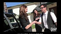 Pair of sisters bribe their car salesman into a...