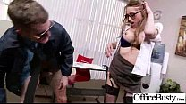 Hardcore Sex With Office Huge Tits Girl (shawna lenee) movie-30