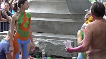 BODY PAINTING NYC ARTISTS-ANDY GOLUB AND COMPANY