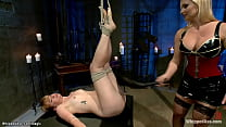 German dominatrix spanks and whips dyke